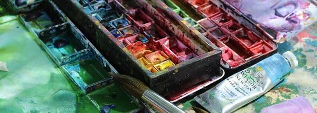 boite aquarelles Sylvie Lander